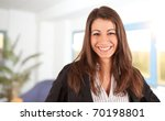 attractive businesswoman... | Shutterstock . vector #70198801