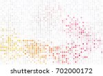 light pink vector modern... | Shutterstock .eps vector #702000172