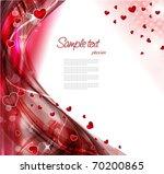 valentines background | Shutterstock .eps vector #70200865