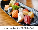 sushi sets | Shutterstock . vector #702014662