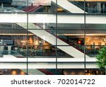 view through the window of the... | Shutterstock . vector #702014722