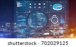 background conceptual image...   Shutterstock . vector #702029125