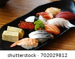 sushi sets | Shutterstock . vector #702029812