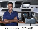 small business   owner of a... | Shutterstock . vector #70205281