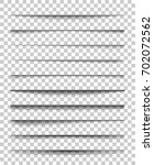 page divider with transparent... | Shutterstock .eps vector #702072562
