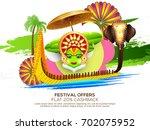 creative sale banner or sale... | Shutterstock .eps vector #702075952