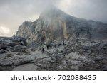 Hikers On Mount Olympus