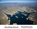 Lake Pleasant From Ten Thousand ...
