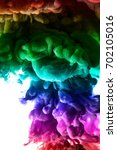 the colorful dye in the water.... | Shutterstock . vector #702105016