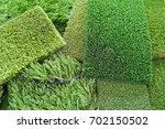 artificial lawn for a football...   Shutterstock . vector #702150502