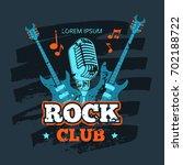Shabby Retro Rock Music Club...