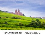 benedictine abbey of st.... | Shutterstock . vector #702193072