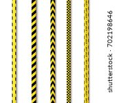 Vector Yellow Black Police Tap...
