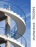 spiral stairs | Shutterstock . vector #7022041