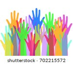 community and social concept... | Shutterstock .eps vector #702215572