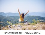 what a view   | Shutterstock . vector #702221542