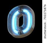 metallic futuristic font with... | Shutterstock . vector #702271876