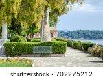 boschetto park or boschetto... | Shutterstock . vector #702275212