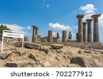 temple of athena   athena... | Shutterstock . vector #702277912