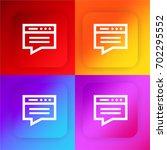 blog four color gradient app...