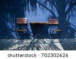 blue bistro   Shutterstock . vector #702302626