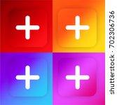 plus four color gradient app...