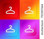 clothes hanger four color...