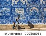 porto  portugal   may 7  2017   ...   Shutterstock . vector #702308056