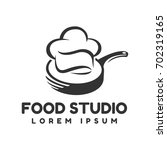 food studio vector logo.... | Shutterstock .eps vector #702319165