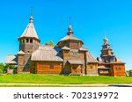 the timbered churches of...