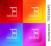 diving four color gradient app...