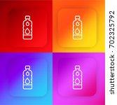 water four color gradient app...