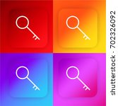 key four color gradient app...