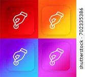 donate four color gradient app...