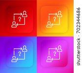 seo four color gradient app...