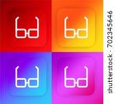 glasses four color gradient app ...