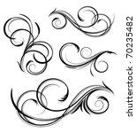 design elements | Shutterstock .eps vector #70235482