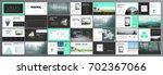 original presentation templates ... | Shutterstock .eps vector #702367066