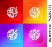 target four color gradient app...