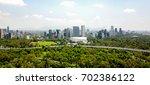 buildings   flag   mexico | Shutterstock . vector #702386122