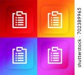 clipboard four color gradient...