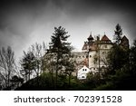 bran   may 8  bran castle on... | Shutterstock . vector #702391528