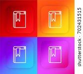 agenda four color gradient app...