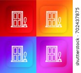 door four color gradient app...