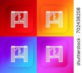 window four color gradient app...