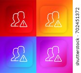 user four color gradient app...