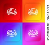 pancakes four color gradient...