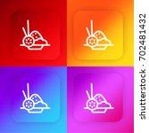 vegetarian four color gradient...