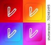 razor four color gradient app...
