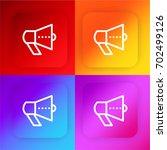 promotion four color gradient...